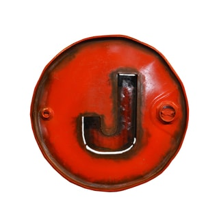 Barrel 'J' Wall Art