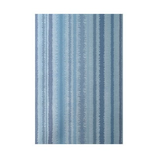 Raya De Agua Stripe Print Indoor, Outdoor Rug - 2' x 3'