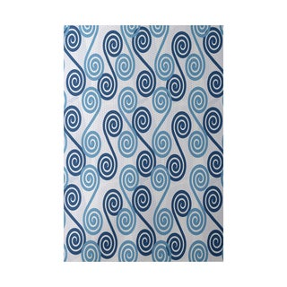 Rip Curl Geometric Print Indoor, Outdoor Rug - 2' x 3'