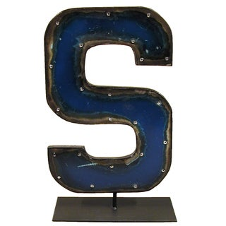 Barrel Letters on a stand S