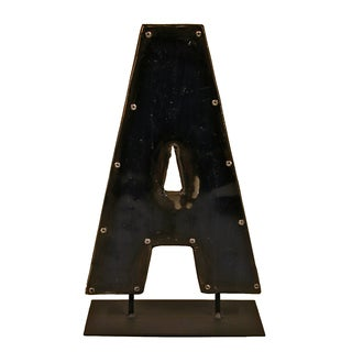 WA-0337-A Barrel Letter 'A' on a Stand