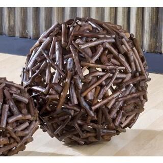 Handmade WA-0237-L Large Antares Branch Ball (Thailand)