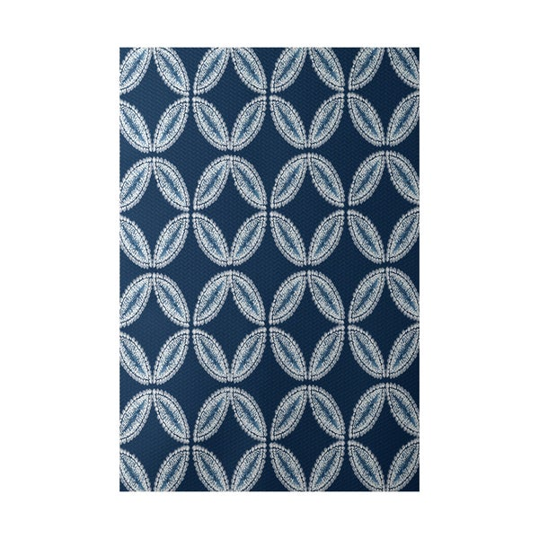 Tidepool Geometric Print Indoor, Outdoor Rug - 2' x 3'