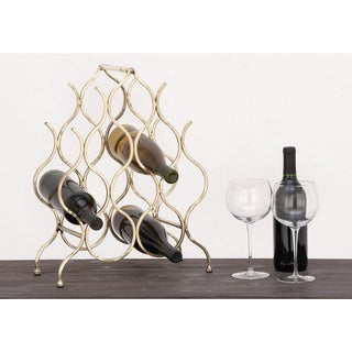 Urban Designs Anabelle 8-bottle Metal Wine Rack