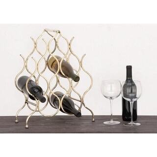 Urban Designs Anabelle 8-bottle Metal Wine Rack
