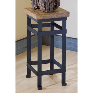 Groovystuff TF-0399-A-S Spring Creek Teak Wood Side End Table
