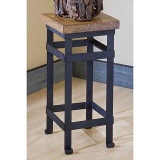 Groovystuff TF-0399-A-S Spring Creek Teak Wood Side End Table