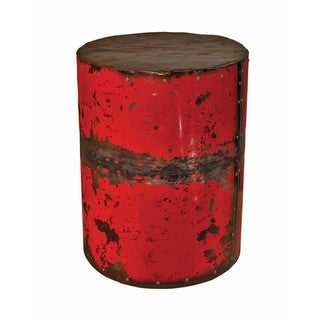 Round Ruby Moonshine Side Table Stool