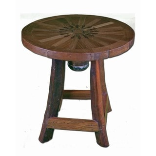 Cattle Baron's End Table