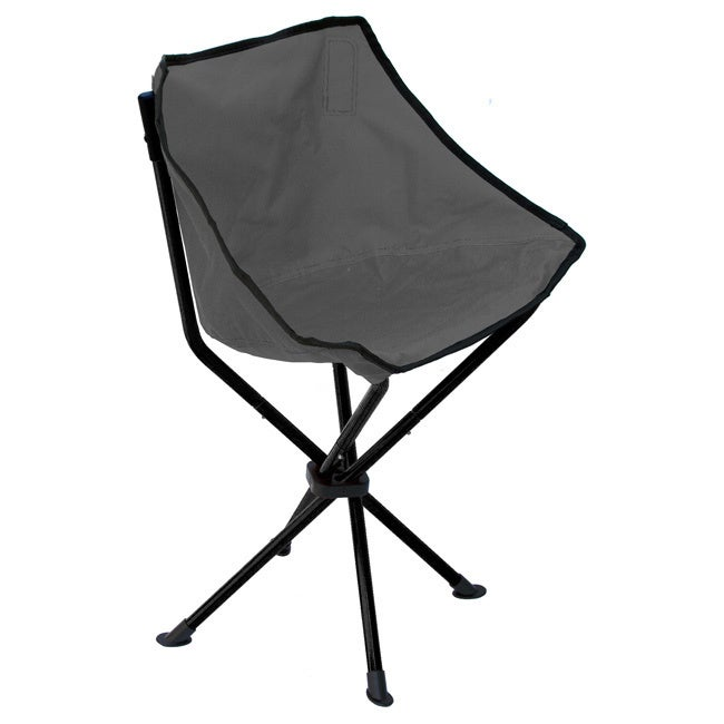 Travelchair Wombat Camping Chair (Black/Gray)