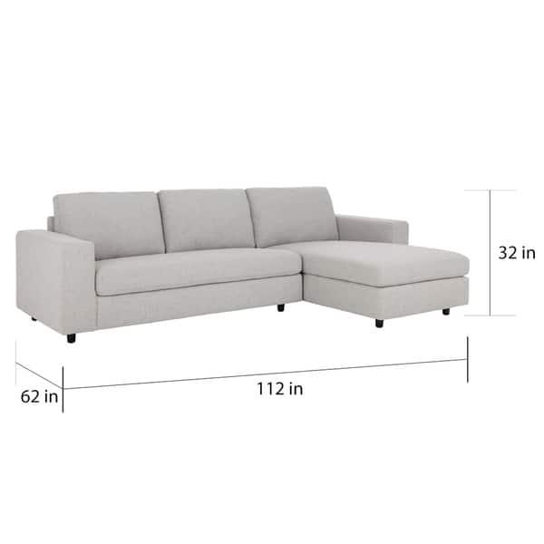 Cool Shop Ethan Grey Sofa On Sale Free Shipping Today Uwap Interior Chair Design Uwaporg