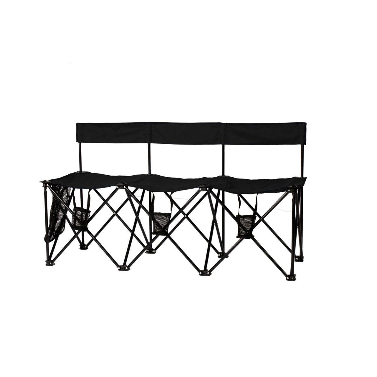 Travelchair TravelChair El Grande 3-seat Bench (Black)