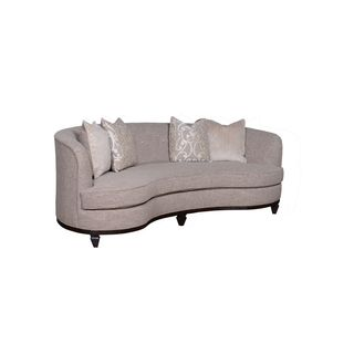 A.R.T. Furniture Blair Fawn 84-inch Kidney Sofa