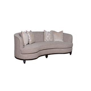 A.R.T. Furniture Blair Fawn 84-inch Kidney Sofa