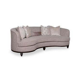 A.R.T. Furniture Blair Fawn 101-inch Kidney Sofa