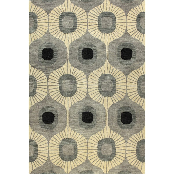 Britanny Tufted Wool Area Runner Rug (2'6 x 8') - 2'6 x 8'