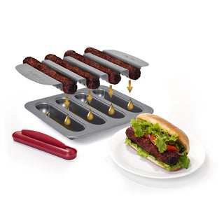 Chef Tony Grease-away Carbon Steel Burger Dog Pan