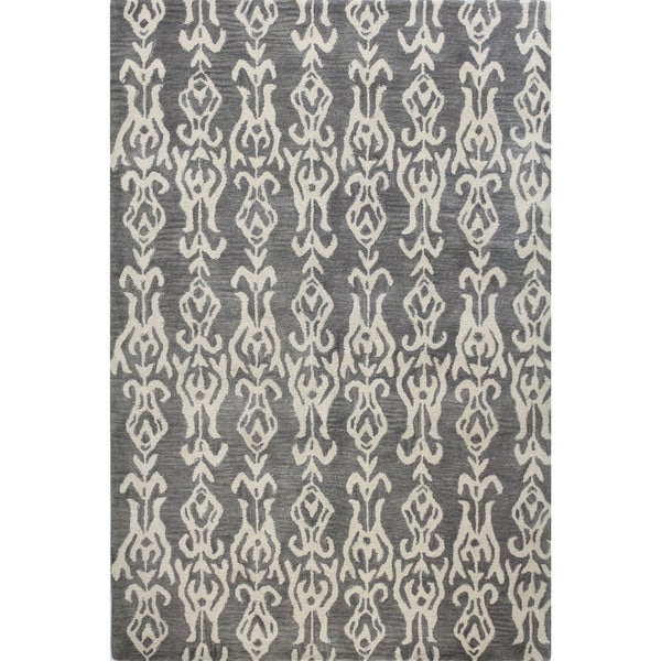 Ava Tufted Wool Area Rug - 2'6 x 8'