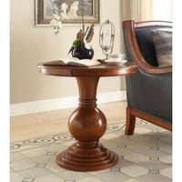 Rosemont Burnt Chestnut Wood/MDF Pedestal Table