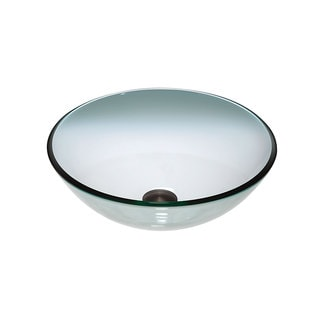 Glass Single Basin Vessel Sink