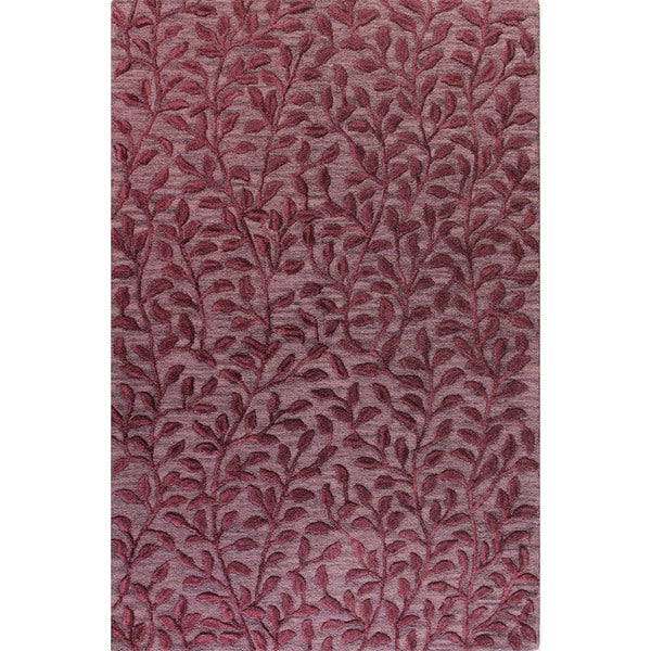Molly Tufted Wool Area Rug - 2'6 x 8'