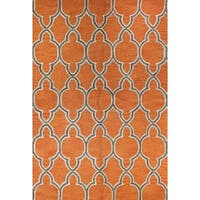 Aaliyah Tufted Wool Area Rug - 2'6 x 8'