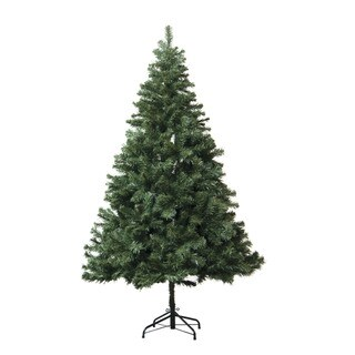 Astella Green 7-foot Artificial Douglas Fir Hinged Christmas Tree with Stand