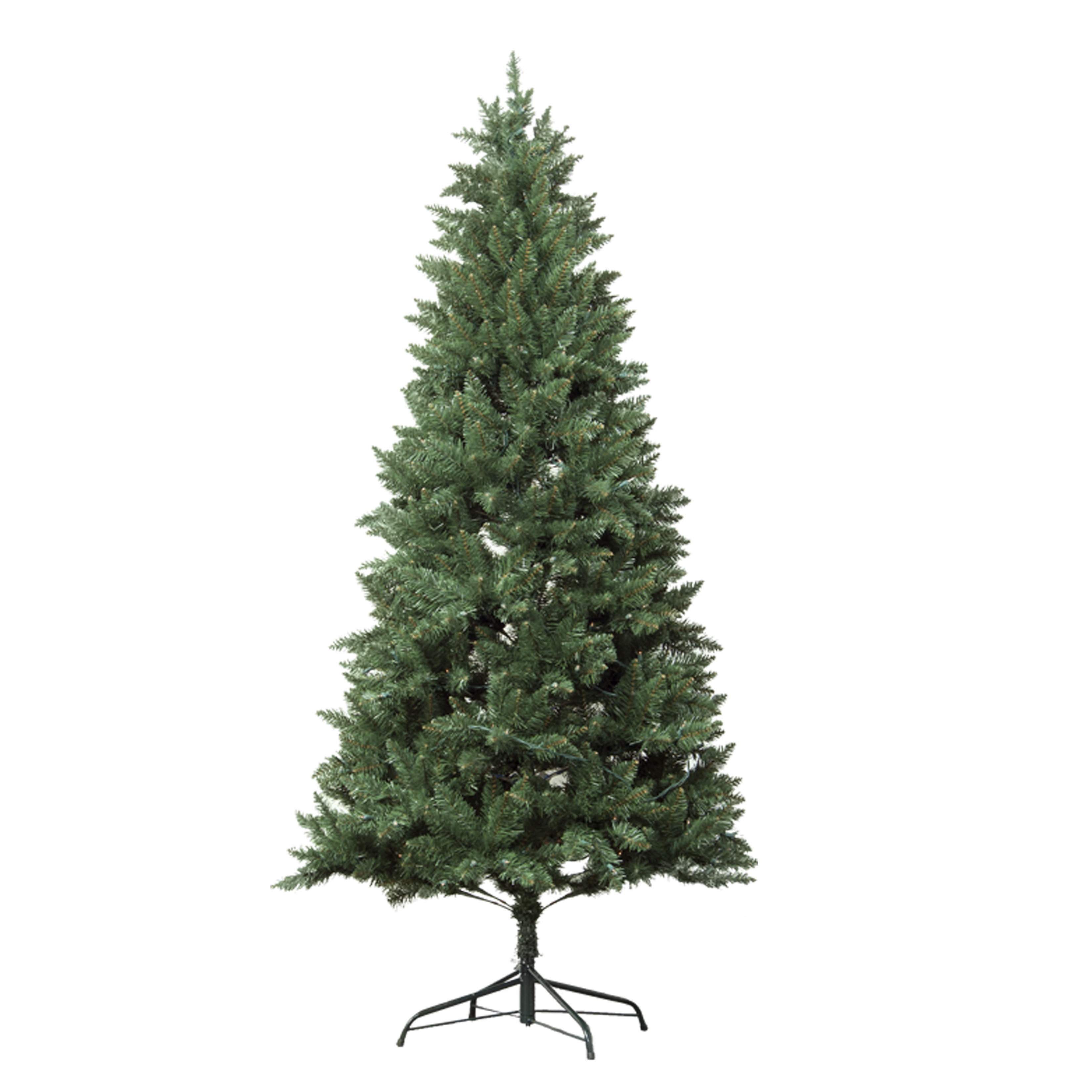 Douglas Fir Christmas Tree.Astella 7 Foot Pre Lit Douglas Fir Hinged Artificial Christmas Tree With Stand And 300 Clear Incandescent Lights