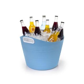 David Tutera Blue Plastic 5-gallon Party Tote
