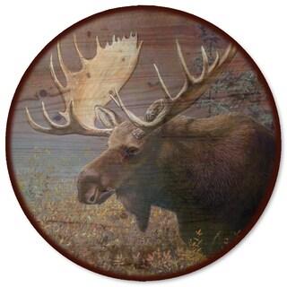 WGI Gallery 'Chocolate Moose Wood' Lazy Susan