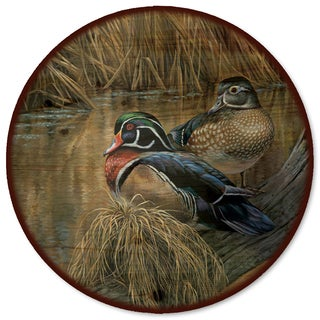 WGI Gallery Back Waters Wood Duck Wood Lazy Susan