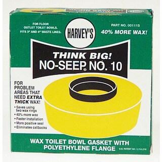 WM Harvey 001115-24 Wax Toilet Bowl Gasket With Polyethylene Flange