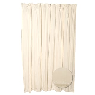 """Zenna Home H20BB 70"""" X 72"""" Taupe Shower Liner"""
