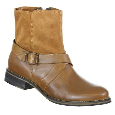 Wolverine Womens Leather Pearl Ankle Buckle Boots