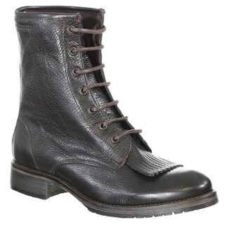 Wolverine Women's Rosie Leather 6-inch Removable Kiltie Lace-up Boots
