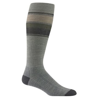 Wigwam Unisex Green/Grey Wool/Spandex Large Fusion Socks