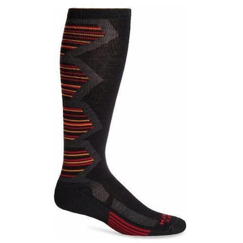 Wigwam Unisex Snow Powder Pro Black Nylon/Wool/Dri-release/Spandex Medium Socks