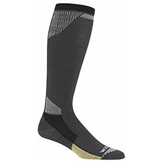 Wigwam Unisex Snow Glacier Charcoal Large Socks