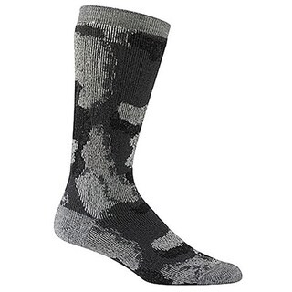 Wigwam Unisex Charcoal Merino Wool Medium Camo Socks