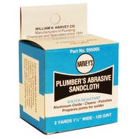 "WM Harvey 095105 1-1/2"" x 10 Yards E-Z Clean Abrasive Sandcloth"