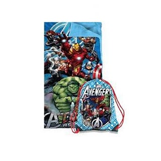 Marvel Avengers Slumber Bag with Sling Bag