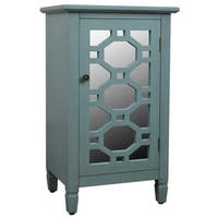 Decor Therapy Mirrored-door Accent Cabinet