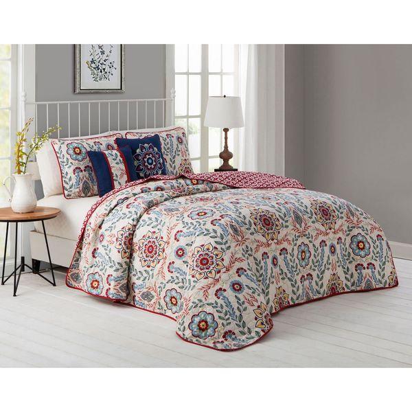 Avondale Manor Valena 5-piece Quilt Set