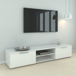 Link to Match 2-drawer and 2-shelf TV Stand Similar Items in Media Cabinets