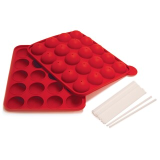 Norpro 3602 Silicone Cake Pop Pan (8 inches high x 10.5 inches long x 1.5 inches wide)
