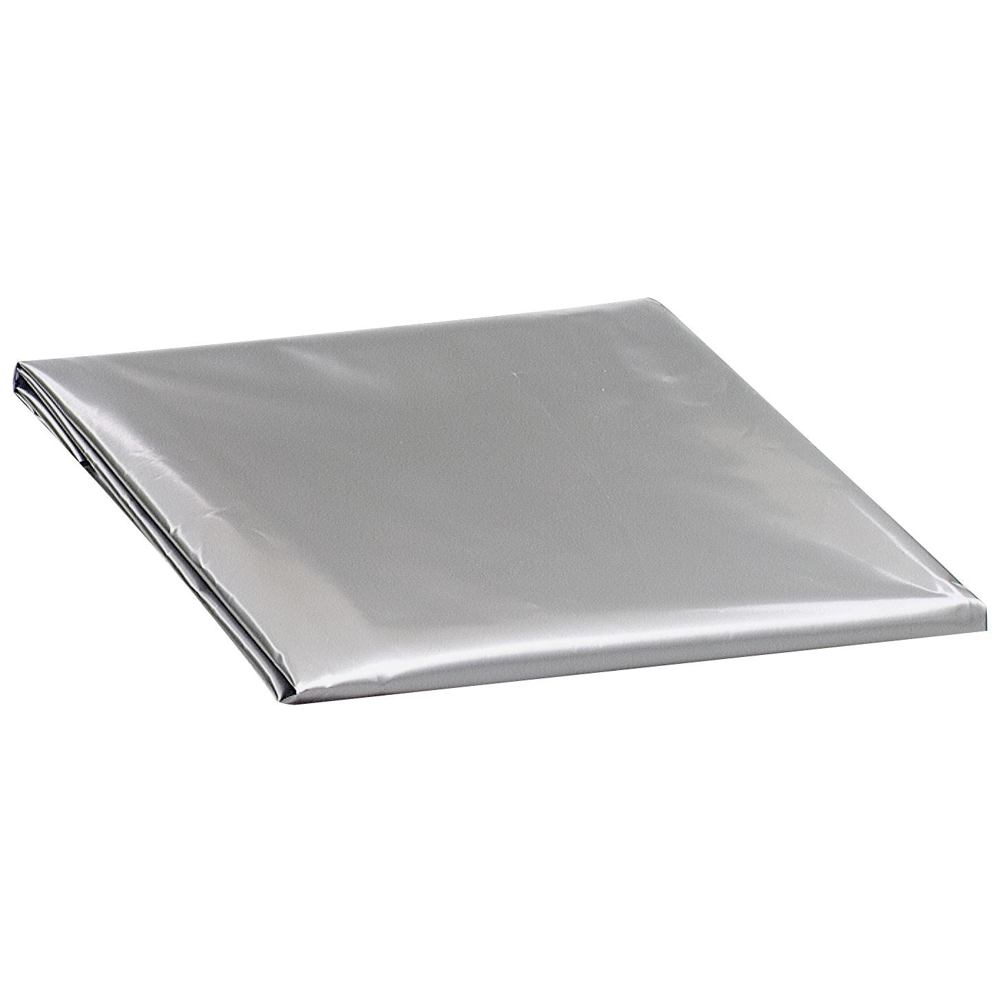 M-D 03392 Air Conditioner Cover (A/c Cover), Silver (Plas...
