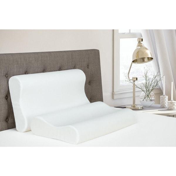 DHP Signature Sleep Contour Memory Foam Pillow