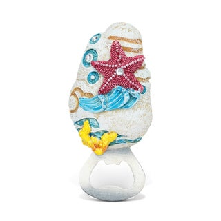 Puzzled Inc. Starfish Stone/Metal Magnetic Bottle Opener