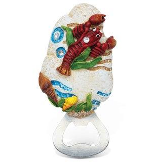 Lobster Stone Magnet Bottle Opener