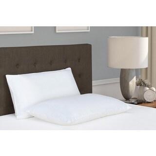 Signature Sleep Dual Memory Foam/ Fiber Pillow